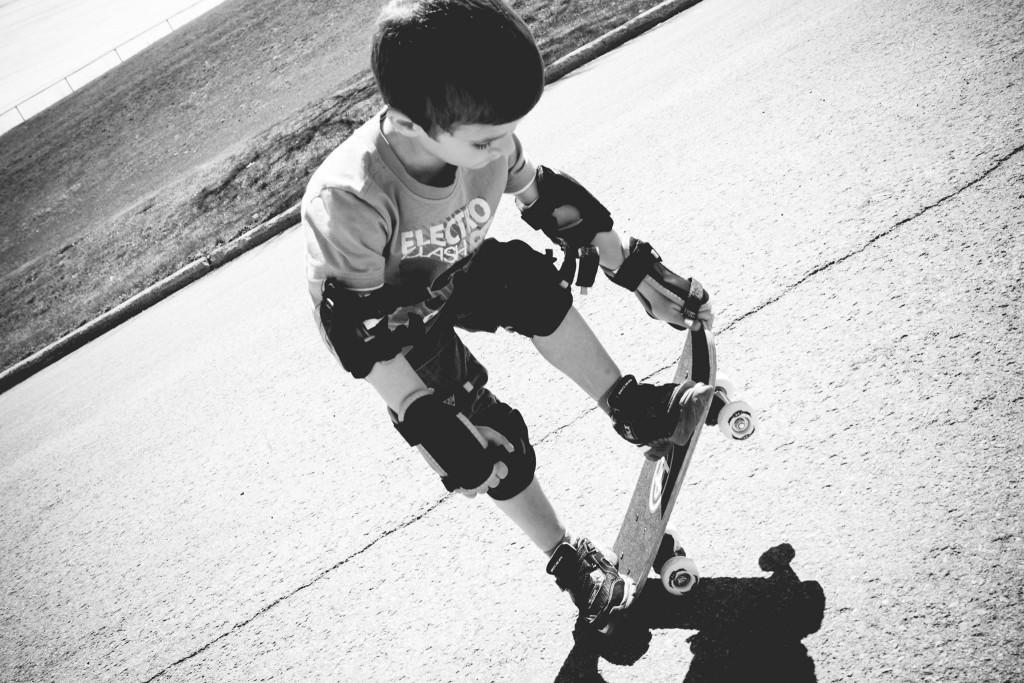 J'aime faire du skate